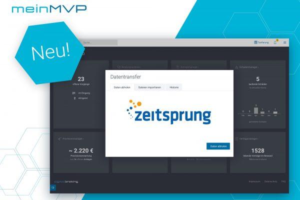 meinMVP - Integration zeitsprung