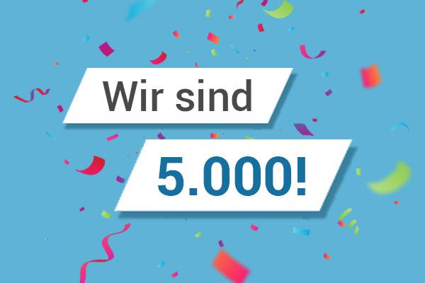 meinMVP feiert 5.000 Nutzer